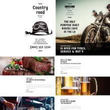 Cafe Responsive Website Template