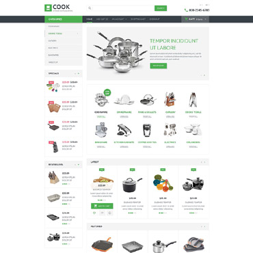 Housewares Responsive OpenCart Template