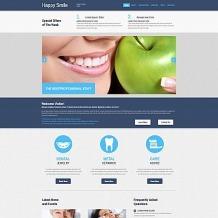 Dentistry Responsive Moto CMS 3 Template