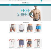 Men's Underwear Responsive WooCommerce Theme