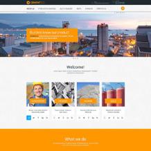 Cement Responsive Website Template