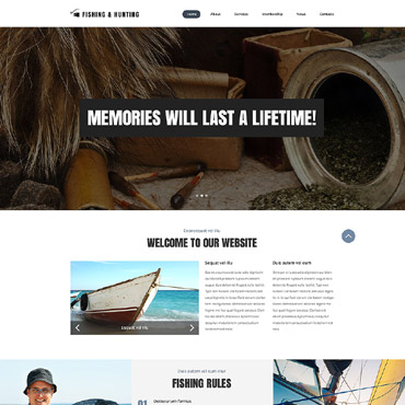 Hunting Responsive Website Template