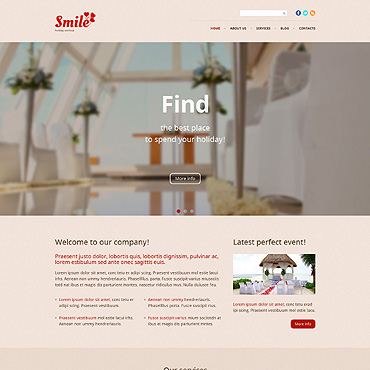 Holiday Responsive WordPress Theme