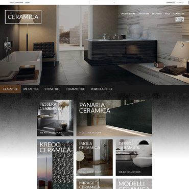 Flooring Responsive VirtueMart Template