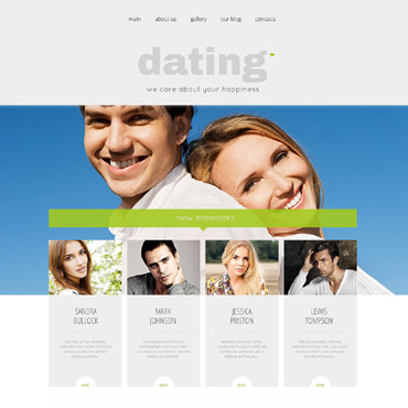 Dating Responsive WordPress Theme