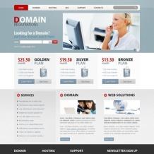 Domain Registrar PSD Template