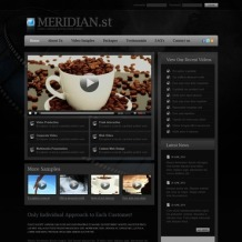 Video Gallery PSD Template