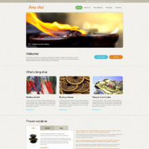 Feng Shui Muse Template