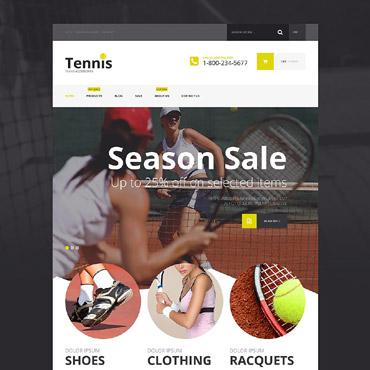 Tennis Responsive Shopify Theme