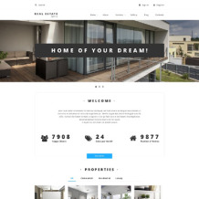 Real Estate Agency Responsive Drupal Template