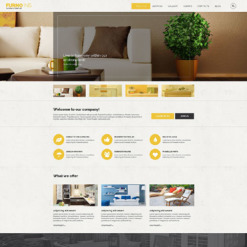 Interior & Furniture Responsive Drupal Template