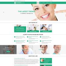 Cosmetics Store Responsive Website Template