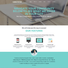 Communications Responsive Joomla Template