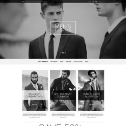 Fashion Store Responsive OpenCart Template