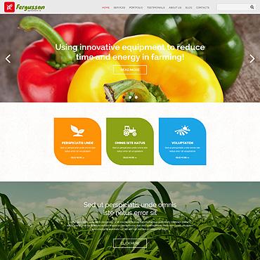 Agriculture Responsive Joomla Template