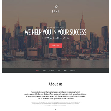 Bank Responsive WordPress Theme