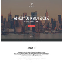 Bank Responsive WordPress Theme