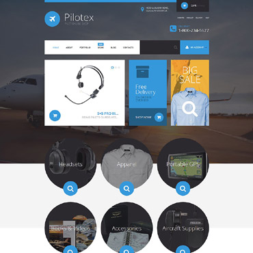 Private Airline Responsive WooCommerce Theme