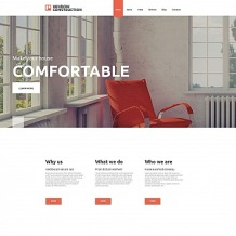 Windows & Doors Moto CMS HTML Template