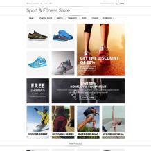 Sports Store Responsive Magento Theme