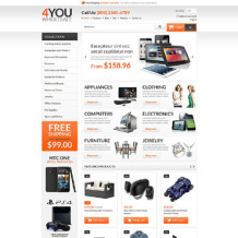 Wholesale Store Responsive Shopify Theme