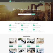 Office Responsive Website Template