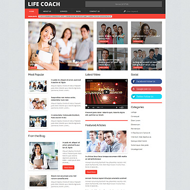 Life Coach Responsive WordPress Theme