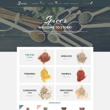 Spice Shop Responsive Magento Theme