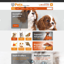 Pet Shop Responsive WooCommerce Theme