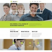 Business Responsive Moto CMS 3 Template