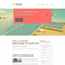 Solar Energy Moto CMS HTML Template