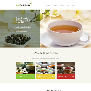 Tea Shop Muse Template