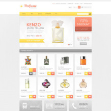 Cosmetics Store OsCommerce Template