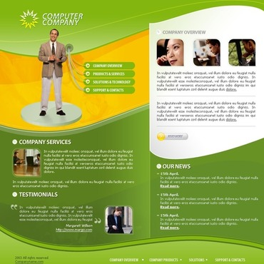 Computers Website Template