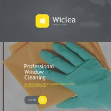 Window Cleaning Responsive Newsletter Template