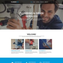 Plumbing Responsive Website Template
