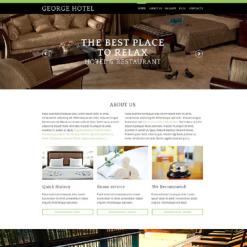 Hotels Responsive Drupal Template