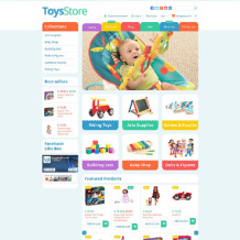 Toy Store Responsive Shopify Theme