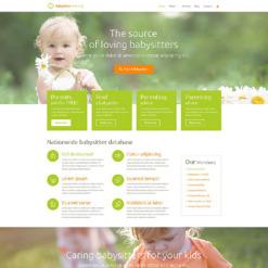 Babysitter Responsive Joomla Template
