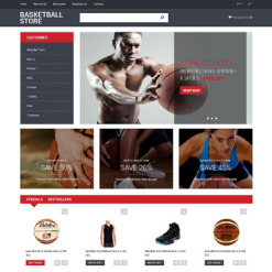 Basketball Responsive OpenCart Template