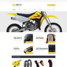 Motor Sports OsCommerce Template