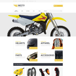Motor Sports OsCommerce Template
