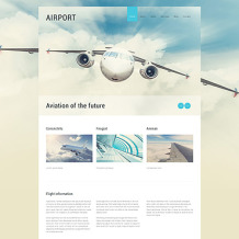 Private Airline Responsive Joomla Template