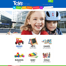 Toy Store Responsive ZenCart Template