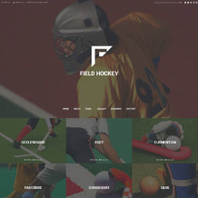Field Hockey Responsive Website Template