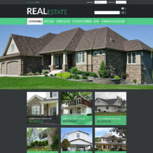 Real Estate Responsive ZenCart Template