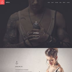 Tattoo Salon Responsive Drupal Template