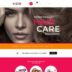 Hair Salon Responsive Shopify Theme