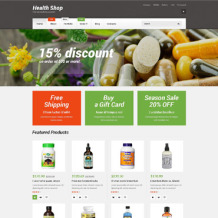 Drug Store Responsive WooCommerce Theme