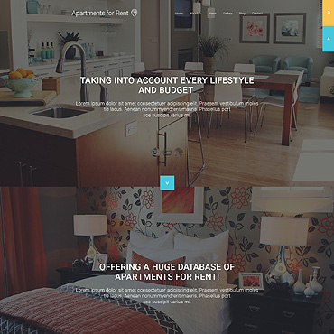 Apartments for Rent Joomla Template #55436